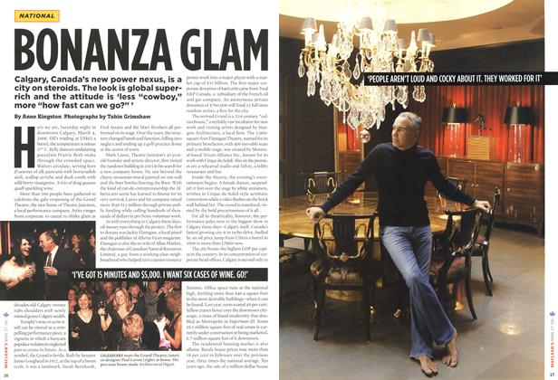 Article Preview: BONANZA GLAM, MAR. 27th 2006 2006 | Maclean's