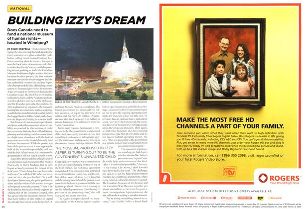 Article Preview: BUILDING IZZY'S DREAM, MAR. 27th 2006 2006 | Maclean's