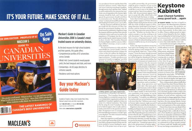 Article Preview: Keystone Kabinet, MAR. 27th 2006 2006 | Maclean's