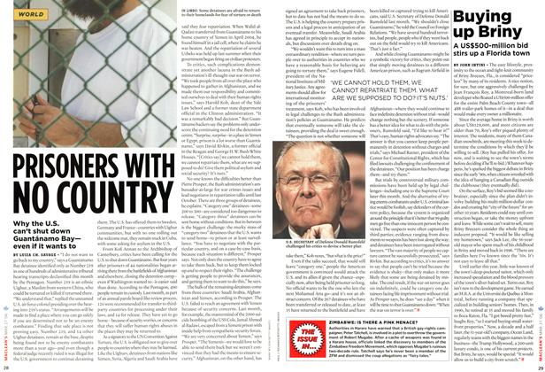 Article Preview: PRISONERS WITH NO COUNTRY, MAR. 27th 2006 2006 | Maclean's