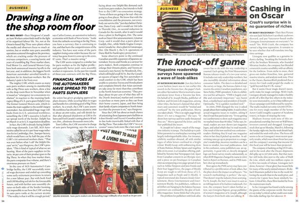 Article Preview: The knock-off game, MAR. 27th 2006 2006 | Maclean's