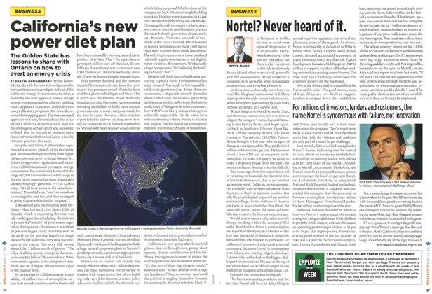 Article Preview: California's new power diet plan, MAR. 27th 2006 2006 | Maclean's