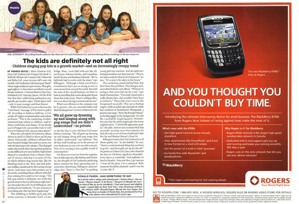 Article Preview: The kids are definitely not all right, MAR. 27th 2006 2006 | Maclean's