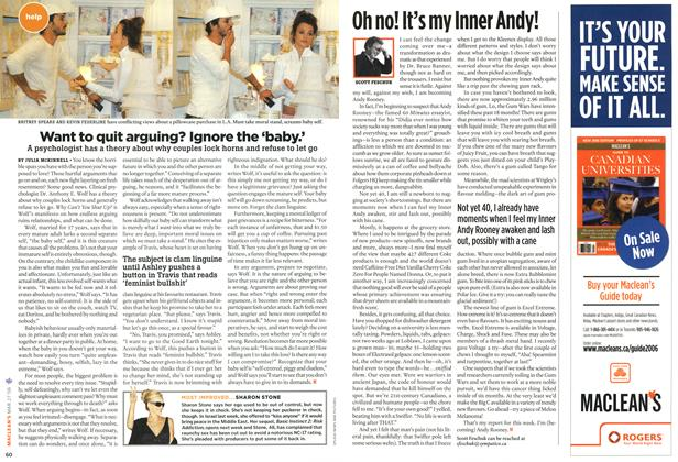 Article Preview: Want to quit arguing? Ignore the 'baby.', MAR. 27th 2006 2006 | Maclean's