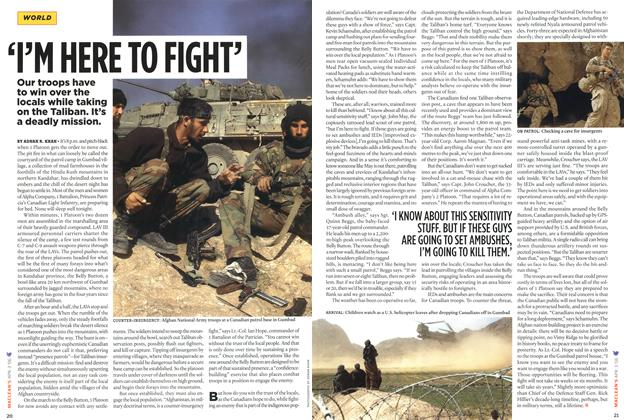 Article Preview: 'I'M HERE TO FIGHT, APR. 3rd 2006 2006 | Maclean's
