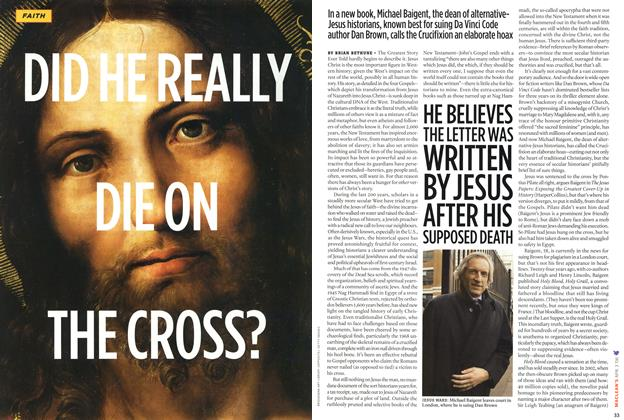 Article Preview: DID HE REALLY DIE ON THE CROSS?, APR. 3rd 2006 2006 | Maclean's