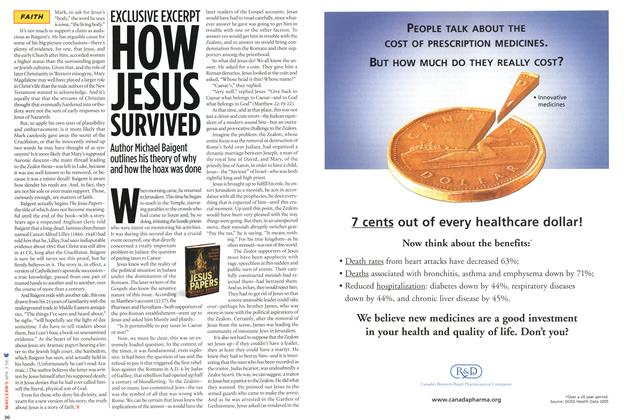 Article Preview: EXCLUSIVE EXCERPT HOW JESUS SURVIVED, APR. 3rd 2006 2006 | Maclean's
