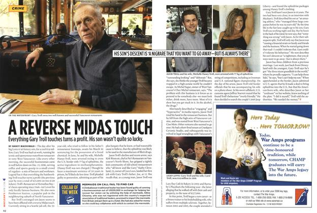 Article Preview: A REVERSE MIDAS TOUCH, APR. 3rd 2006 2006 | Maclean's
