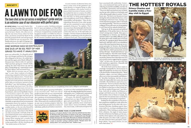 Article Preview: A LAWN TO DIE FOR, APR. 3rd 2006 2006 | Maclean's