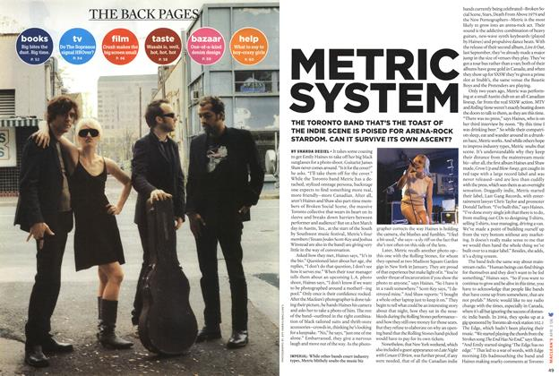 Article Preview: METRIC SYSTEM, APR. 3rd 2006 2006 | Maclean's