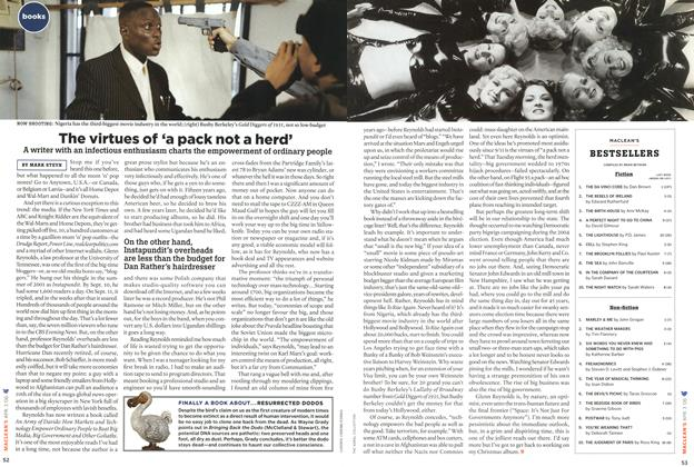 Article Preview: The virtues of 'a pack not a herd', APR. 3rd 2006 2006 | Maclean's