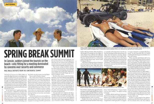 Article Preview: SPRING BREAK SUMMIT, APR. 10th 2006 2006 | Maclean's