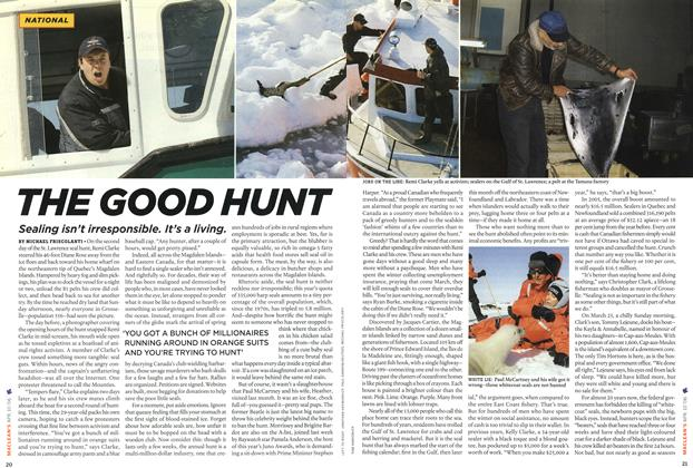 Article Preview: THE GOOD HUNT, APR. 10th 2006 2006 | Maclean's