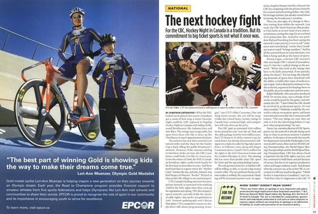 Article Preview: The next hockey fight, APR. 10th 2006 2006 | Maclean's