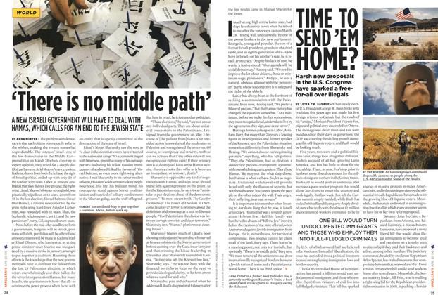 Article Preview: 'There is no middle path', APR. 10th 2006 2006 | Maclean's