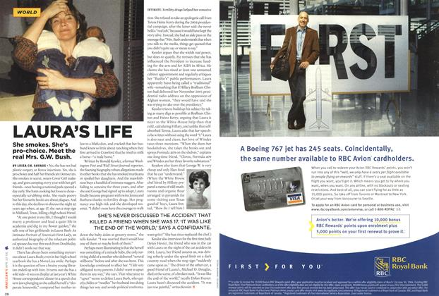 Article Preview: LAURA'S LIFE, APR. 10th 2006 2006 | Maclean's