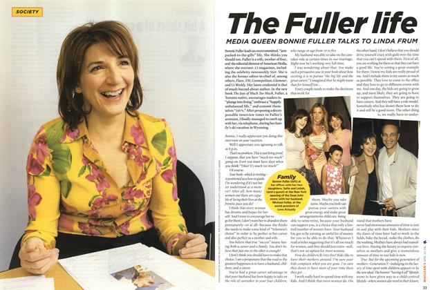 Article Preview: The Fuller Life, APR. 10th 2006 2006 | Maclean's