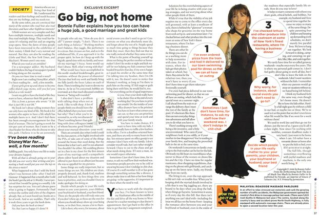 Article Preview: Go big, not home, APR. 10th 2006 2006 | Maclean's