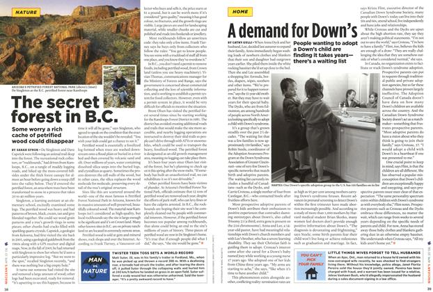 Article Preview: A demand for Down's, APR. 10th 2006 2006 | Maclean's