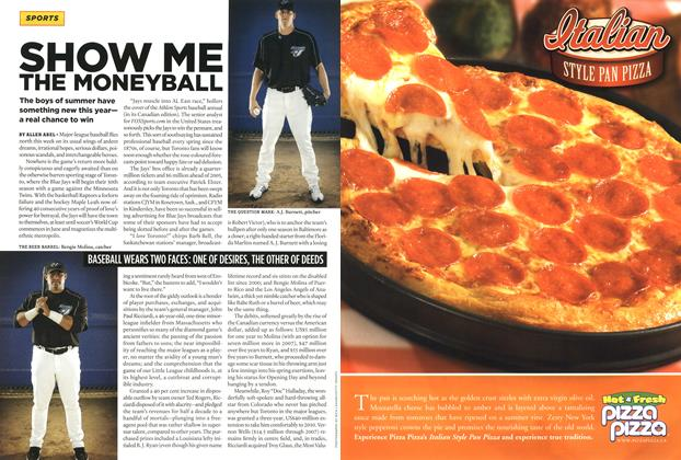 Article Preview: SHOW ME THE MONEYBALL, APR. 10th 2006 2006 | Maclean's