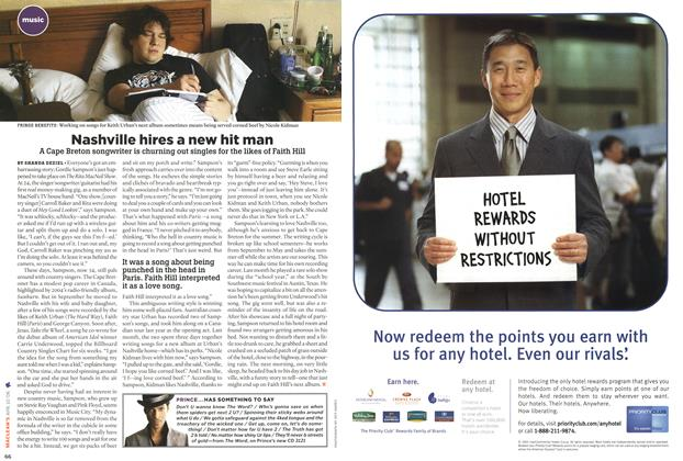 Article Preview: Nashville hires a new hit man, APR. 10th 2006 2006 | Maclean's