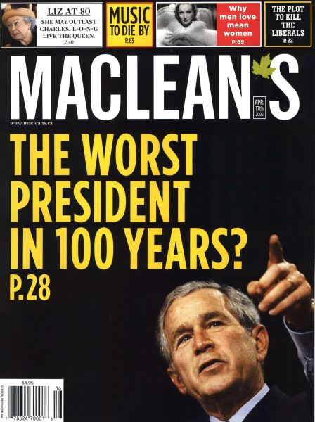 Issue: - APR. 17th 2006 | Maclean's