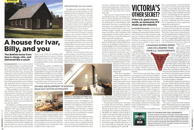 Article Preview: VICTORIA'S OTHER SECRET?, APR. 17th 2006 2006 | Maclean's