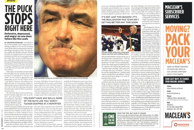 Article Preview: ONE FOR THE BOOKS, APR. 17th 2006 2006 | Maclean's