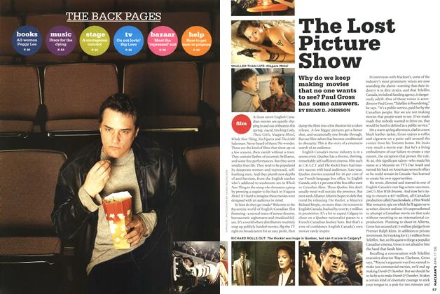 Article Preview: The Lost Picture Show, APR. 17th 2006 2006 | Maclean's