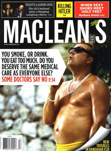 Issue: - APR. 24th 2006   Maclean's