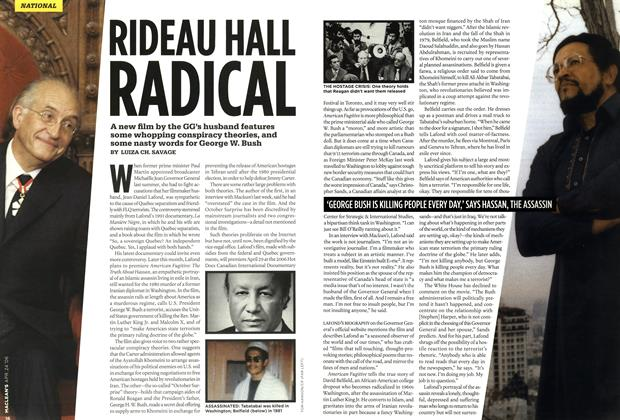 Article Preview: RIDEAU HALL RADICAL, APR. 24th 2006 2006 | Maclean's