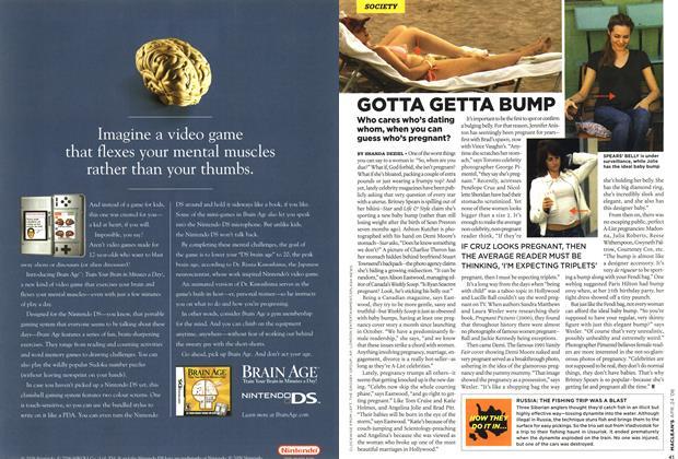 Article Preview: GOTTA GETTA BUMP, APR. 24th 2006 2006 | Maclean's