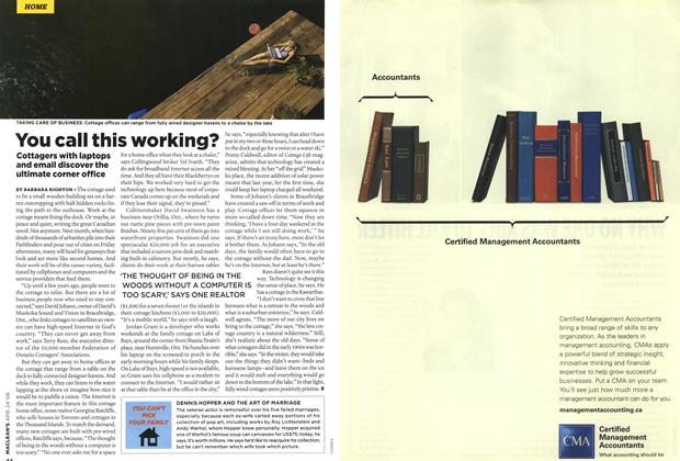 Article Preview: You call this working?, APR. 24th 2006 2006 | Maclean's
