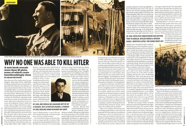 Article Preview: WHY NO ONE WAS ABLE TO KILL HITLER, APR. 24th 2006 2006 | Maclean's