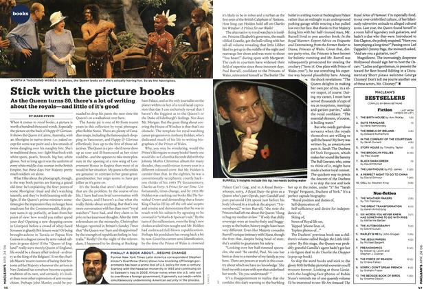 Article Preview: Stick with the picture books, APR. 24th 2006 2006 | Maclean's