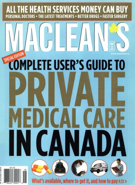Issue: - MAY 1st 2006 | Maclean's