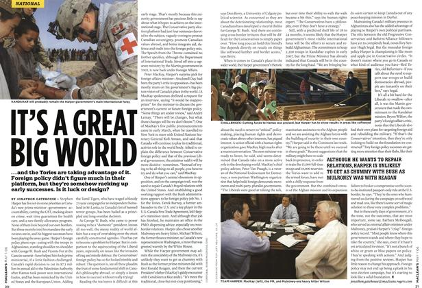 Article Preview: IT'S A GREAT BIG WORLD, MAY 1st 2006 2006 | Maclean's