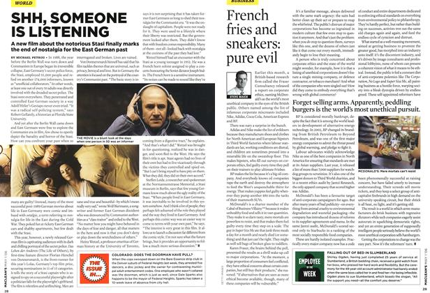Article Preview: French fries and sneakers: pure evil, MAY 1st 2006 2006 | Maclean's