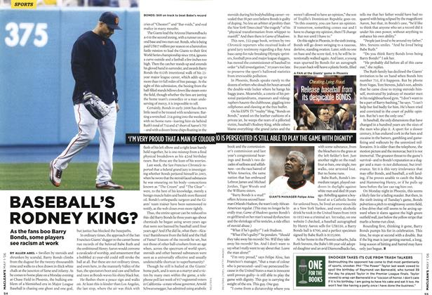 Article Preview: BASEBALL'S RODNEY KING?, MAY 1st 2006 2006 | Maclean's