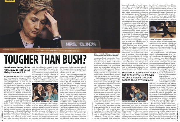 Article Preview: TOUGHER THAN BUSH?, MAY 8th 2006 2006 | Maclean's