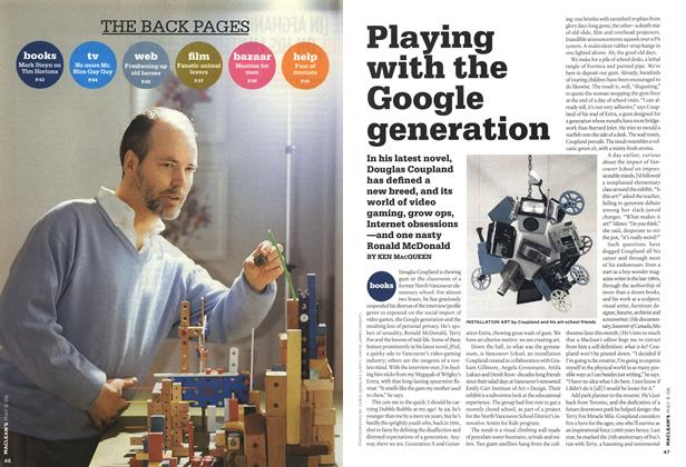 Article Preview: Playing with the Google generation, MAY 8th 2006 2006 | Maclean's