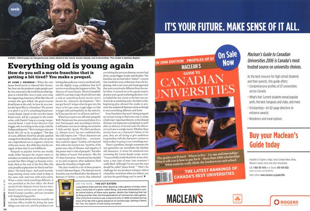 Article Preview: Everything old is young again, MAY 8th 2006 2006 | Maclean's