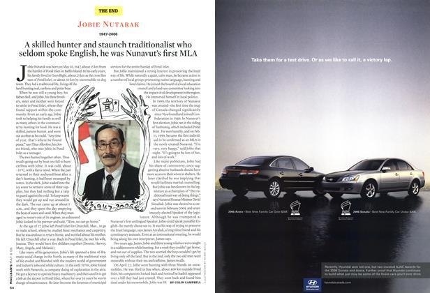 Article Preview: JOBIE NUTARAK 1947-2006, MAY 8th 2006 2006 | Maclean's