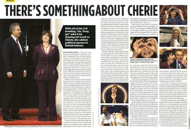 Article Preview: THERE'S SOMETHING ABOUT CHERIE, MAY 15th 2006 2006 | Maclean's