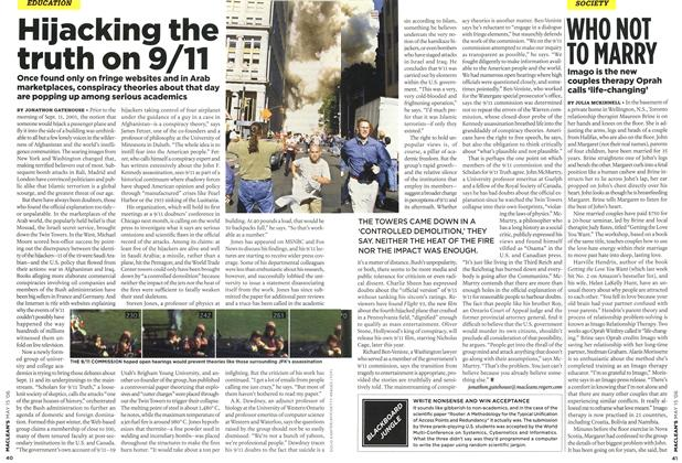 Article Preview: Hijacking the truth on 9/11, MAY 15th 2006 2006 | Maclean's