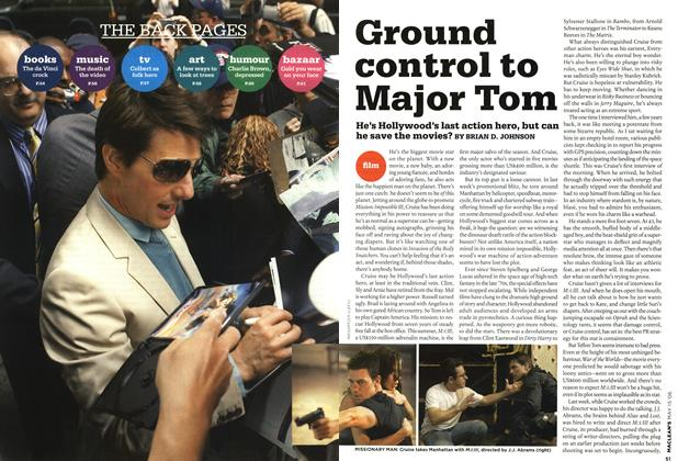 Article Preview: Ground control to Major Tom, MAY 15th 2006 2006 | Maclean's