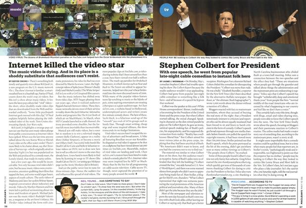 Article Preview: Stephen Colbert for President, MAY 15th 2006 2006 | Maclean's