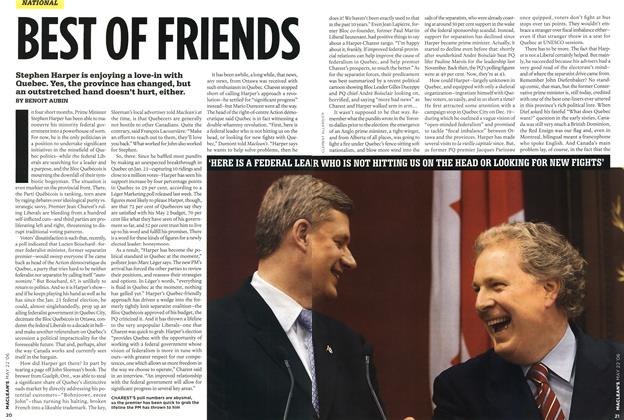 Article Preview: BEST OF FRIENDS, MAY 22nd 2006 2006 | Maclean's