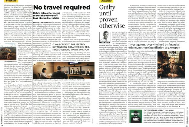Article Preview: No travel required, MAY 22nd 2006 2006 | Maclean's
