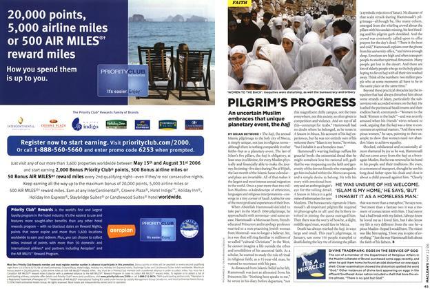 Article Preview: PILGRIM'S PROGRESS, MAY 22nd 2006 2006 | Maclean's